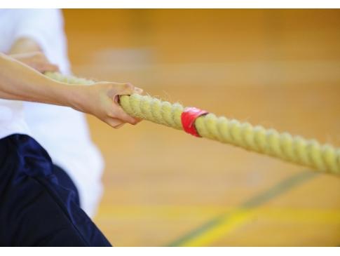 綱引き|スポーツマウスピース|マウスガード